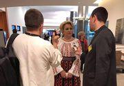 """Ia romaneasca, promovata in Parlamentul European. """"Ia romaneasca este o traditie a poporului roman"""", a declarat europarlamentarul Viorica Dancila"""