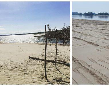 Plaja de la Dunare care rivalizeaza cu oferta de pe Litoral. La Corabia, nispiul este...