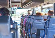 Autocar cu zeci de turisti, implicat intr-un accident rutier pe DN 1, in statiunea Busteni
