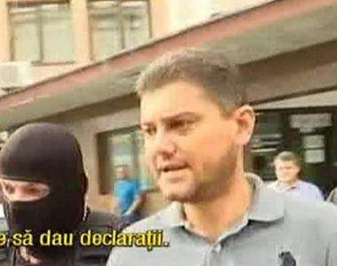 Cristian Boureanu a iesit de la Parchet dupa 7 ore de audieri cu zambetul pe fata