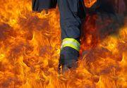 Mures: Explozie urmata de un incendiu la o companie de producerea a PAL-ului din Reghin. Nu exista victime