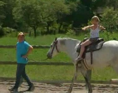 Padure cat vezi cu ochii si o herghelie de cai care de abia astepta sa-i plimbe pe...
