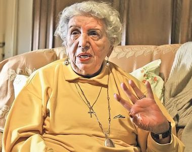 Iolanda Nicolaescu, internata. Sora regizorului Sergiu Nicolaescu are 90 de ani