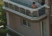 Fotografia care a infuriat mii de romani. Balconul se putea prabusi in orice clipa, iar distractia s-ar fi transformat intr-o adevarata tragedie