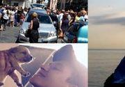 Simona, tanara de 28 de ani gasita moarta in Italia, a fost condusa pe ultimul drum. Trupul neinsufletit al fetei a fost descoperit infasurat intr-un covor