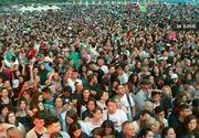 Cel mai mare festival din aceasta vara de la mare s-ar putea tranforma intr-un fiasco. Iata cum arata plaja