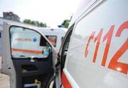 Doua persoane ranite, intre care una in coma profunda, dupa ce o masina si un camion s-au ciocnit pe centura municipiului Sibiu
