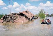 20 de gospodarii, inclusiv locuinte, inundate in urma unor ploi torentiale, iar un drum national a fost blocat
