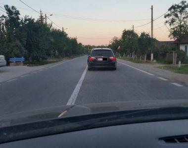 Ce a patit o soferita din Gorj dupa ce soferul unui BMW i-a taiat calea si a sicanat-o...