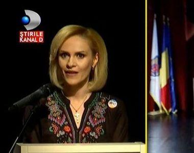 Primarul Gabriela Firea si-a prezentat raportul de la un an de la investire