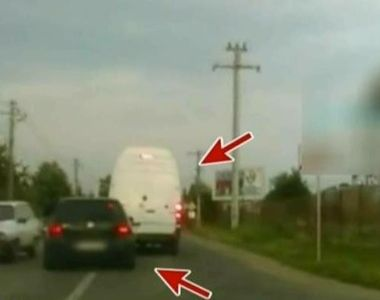 Incident socant in trafic! Dupa nenumarate sicanari, un sofer este atacat de alti patru...