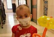 """Campania """"Ajutor pentru Giulia"""" continua. Micuta bolnava de leucemie mai are nevoie de 10.500 de euro pentru a-si continua tratamentul"""