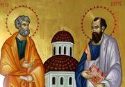 Crestinii ii sarbatoresc astazi pe Sfintii Petru si Pavel