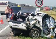 Doua persoane au murit si alte doua au fost ranite intr-un accident rutier in Caras- Severin