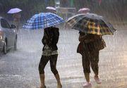 Vijelii, grindina si ploi torentiale de duminica si pana marti. Va ploua cu 50-75 litri/mp in 48 de ore