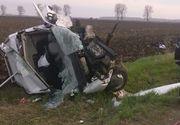 Accident cumplit in Ialomita. Mai multi morti si raniti, dupa ce o cisterna si doua autoturisme s-au ciocnit