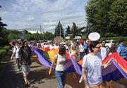"""Actrita din Cluj, saltata de jandarmi. Femeia a """"deranjat"""" manifestatia pentru sustinerea familiei traditionale"""