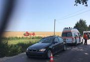 Un tanar din Tulcea de 20 de ani cu un BMW a lovit trei biciclisti englezi. Unul a murit pe loc