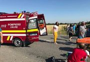 Accident teribil pe o sosea din Olt. Un baietel de 5 ani a murit pe loc, iar alte doua persoane se afla in stare critica
