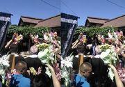 Alina, tanara jurnalista din Gorj care a murit acum cateva zile, a fost condusa pe ultimul drum. Sute de oamenii au venit sa planga la capataiul ei