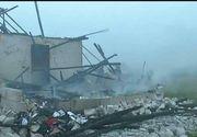 11 copii au ramas pe drumuri, dupa ce tatal lor a incendiat casa in care locuiau! Imagini socante