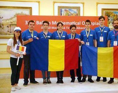 Elevii romani au obtinut doua medalii de aur si doua medalii de argint la Balcaniada de...