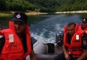 Barbat inecat in lacul de acumulare Cerna. Ce au descoperit scafandrii pe fundul apei