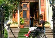 Drama elevului in scaun cu rotile continua. Stef a fost nevoit sa vina de pe patul spital la scoala ca sa dea test oral la sport