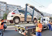 Primaria Sectorului 1 anunta ca masinile abandonate pe strazi vor fi ridicate instant