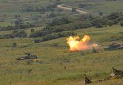 Demonstratie de forta in Transilvania: Tancuri, elicoptere si avioane de atac, artilerie si mii de soldati intr-un exercitiu militar in care un agresor ataca Romania