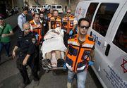 Treizeci si trei de raniti la Madrid in urma unei coliziuni intre doua trenuri pe un montagne russe