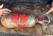 Bomba de aviatie de patru kilograme, gasita pe plaja din Eforie Sud