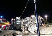 Accident mortal pe DN1, la Alba Iulia. Un tanar de 25 de ani a decedat dupa ce a adormit la volan si a intrat pe contrasens