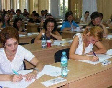 Rezultatele examenului de titularizare. Aproape 46% dintre profesori au reusit sa ia...
