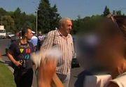 Razie cu scandal in plina Capitala. Doi indivizi si-au varsat nervii pe echipa Stirilor Kanal D dupa ce au fost amendati de politie