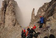Un alpinist roman a fost salvat din Muntii Olimp de catre salvamontistii greci. El a stat captiv acolo inca de sambata seara