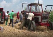 Un tanar a murit in timp ce incerca sa remedieze o problema la un utilaj cu care lucra pe un teren dintr-un sat buzoian