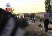 A fost activat planul rosu de interventie! Accident grav in Cluj. Un autocar cu 25 de oameni s-a rasturant in sant