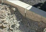 Bataie de joc in Arad. Iata cum arata asfaltul la nici doua saptamani de la terminarea lucrarilor
