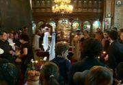 Compozitorul Dumitru Lupu a fost condus astazi pe ultimul drum. Sotia lui a facut un gest cutremurator in curtea bisericii