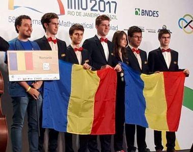 Ei sunt tinerii romani care merita respectul nostru - Lotul Olimpic de matematica a...