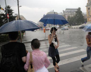 Ploi si instabilitate atmosferica accentuata in Calarasi, Ialomita, Braila, Galati,...