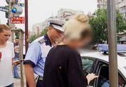 """""""Sunt gravida si mi s-a facut rau"""". O tanara din Capitala a blocat cu masina ei de teren mai multe tramvaie mai bine de o ora."""