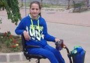 O femeie imobilizata pe viata intr-un carucior cu rotile are nevoie de ajutor! Liliana Cercel mai are nevoie de cateva sute de lei VIDEO