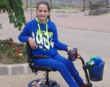 O femeie imobilizata pe viata intr-un carucior cu rotile are nevoie de ajutor! Liliana...