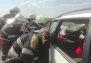 Accident cumplit langa Timisoara. Un barbat si o femeie au murit pe loc, 4 persoane au fost ranite