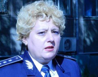 """Ea este Alina Popescu, comisarul sef """"pensionat"""" de la IPJ Olt, dar angajata..."""