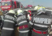 Trei morti si patru raniti, dupa ce masina in care se aflau a fost lovita de un camion, in Maramures