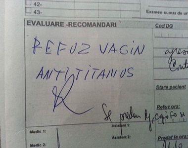 Mesajul viral al unei asistente pentru parintii care refuza sa isi vaccineze copiii:...