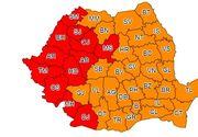 Meteorologii au prelungit pana duminica codul rosu de canicula pentru Mehedinti si Dolj. Celelalte judete vor fi sub cod portocaliu si galben